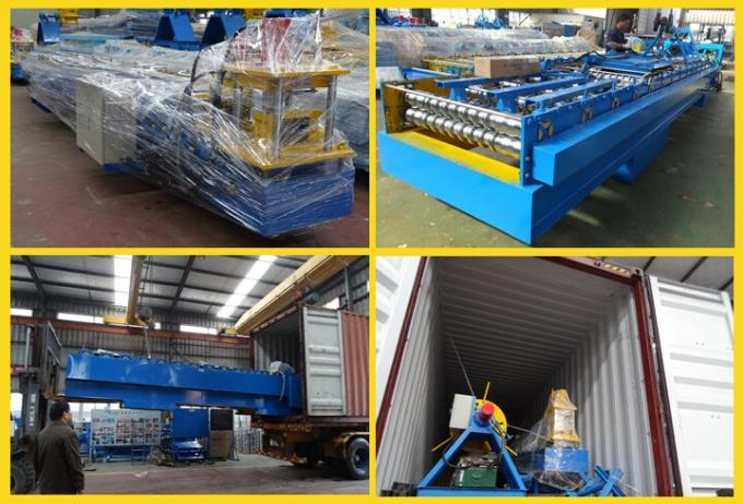 YX80-340 Automatic Highway Guardrail Steel Roll Forming Machine