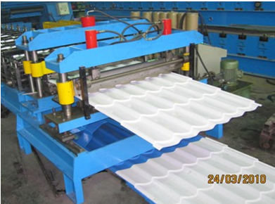 Galvanized Metal Double Layer Roofing Sheet Roll Forming Machine / Roll Former Machinery