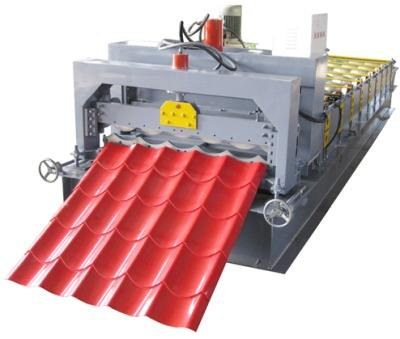 Glazed Tile Roll Forming Machine,Roll Forming Machine For Cold Room Panel
