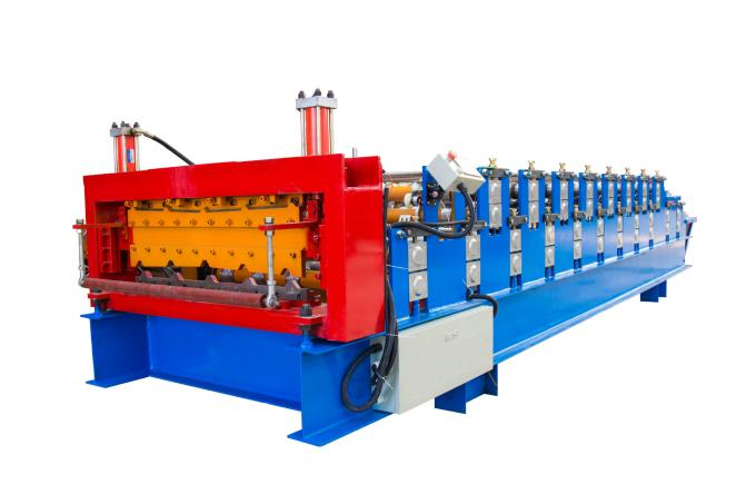 Metal Zinc IBR Profile Automatic Roll Forming Machines 7600*1300*1500mm Size