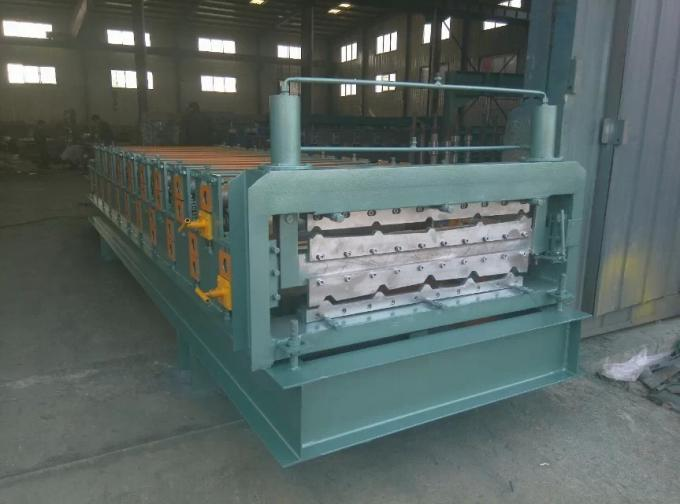 Color Coated Meta Iron Steel Corrugated Arch Roofing Panel Roll Forming Machine