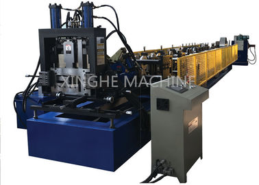 China 3 Cylinder Cable Tray Roll Forming Machine , Steel Stud Roll Forming Machine  supplier