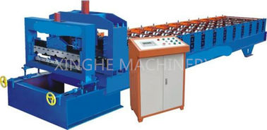 China Easy Operating Automatic Roll Forming Machines For 840mm Antique Glazed Tile supplier