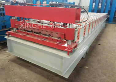 China PPGI Steel Stud Roll Forming Machine With Steel Sheet Shearing Machine supplier
