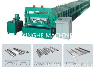 China Energy Saving Trapezoidal Sheet Roll Forming Machine , Cold Forming Machine  supplier