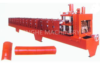 China Red Color Smart Sheet Metal Forming Equipment With High Capacity Manual Uncoiler supplier