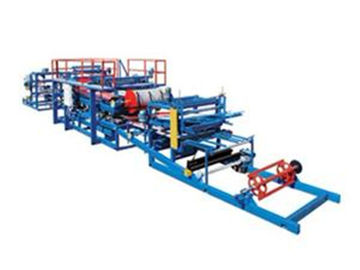 China Continuous Sandwich Panel Roll Forming Machine For Roof Or Wall Plate Making supplier