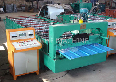 China Color Coated Highly Effective Cold Roll Forming Machines , Metal Roofing Roll Former supplier