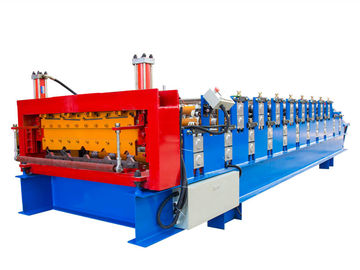 China Easy Installation Double Layer Roll Forming Machine , Tile Forming Machine supplier