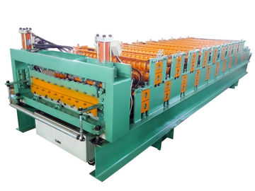 China High Strength Metal Roof Roll Forming Machine For Light Weight Wall Panels supplier