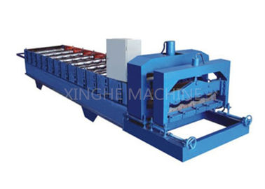 China 3kw Automatic Roll Forming Machines For Easy Installation Color Steel Plate supplier