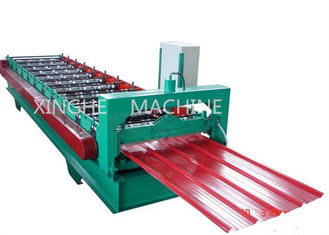 China High Capacity Cold Roll Forming Machines With Coiler Sheet Guiding Device supplier