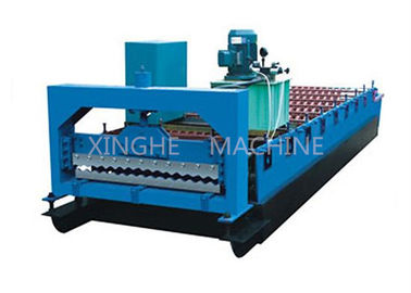 China Smart Cold Roll Forming Machines / Sheet Metal Forming Equipment With 3kw Motor supplier