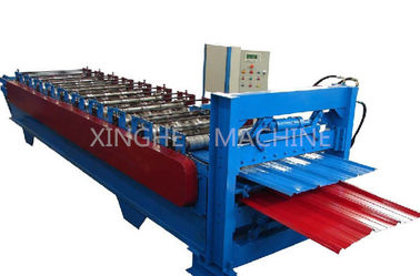 China PPGI Steel Double Layer Roll Forming Machine For Making Factory Wall Panel supplier