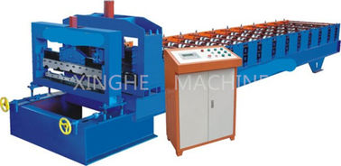 China 50 - 60HZ Sheet Pressing Automatic Roll Forming Machine For House Roof Panel supplier