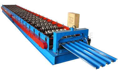 China Automatic Roof Panel Roll Forming Machine , Roofing Sheet Making Machine supplier