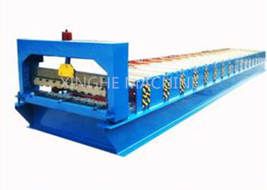 China 380V 3kw Roll Shutter Door Forming Machine , Sheet Metal Forming Equipment  supplier