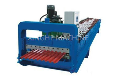 China PPGI Steel Roller Shutter Door Roll Forming Machine With 3kw Power Motor Control supplier
