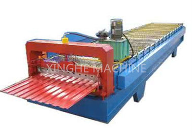 China 380V 300H Steel Frame Cold Roll Forming Machines With 16 Stand Rollers supplier