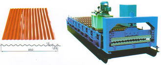 China Automatic Wall Panel Roll Forming Machine , Sheet Metal Roll Forming Machine supplier