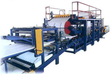 China Eps / Rock Wool Sandwich Wall Panel Roll Forming Production Line / Machine supplier