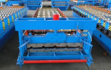 China 3kw High Speed Roof Panel Roll Forming Machine Using Galvanized Steel Coil supplier
