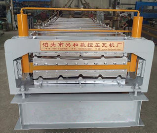 China European Style Industrial Roofing Sheet Making Machine With PLC Control System supplier