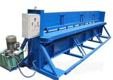 China Motor Control Roll Forming Production Line , 3 KW Hydraulic Metal Cutter supplier
