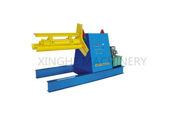 China High Speed Roll Forming Production Line Decoiler Machine With Forming Cutter supplier