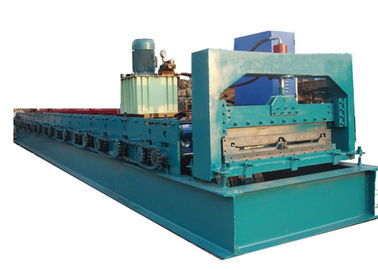 China Green C Purlin Roll Forming Machine For Making 760mm Width Roof Purlin supplier