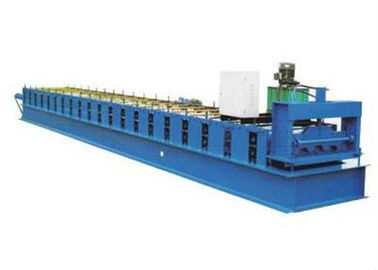 China Metal Floor Decking Sheet Roll Forming Machine With 10 - 12m / Min Working Speed supplier