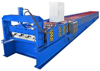 China 380V Galvanized Steel Floor Deck Roll Forming Machine With 23 Rows Rollers supplier