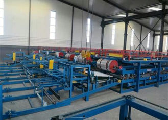 China Automatic EPS Sandwich Panel Roll Forming Machine With PLC Control System supplier