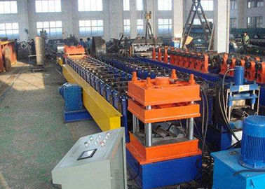 China Galvanized Steel Highway Guardrail Roll Forming Machine With Easy Operation supplier