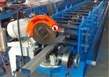 China Round / Square Water Downspout Roll Forming Machine With PLC Control System supplier