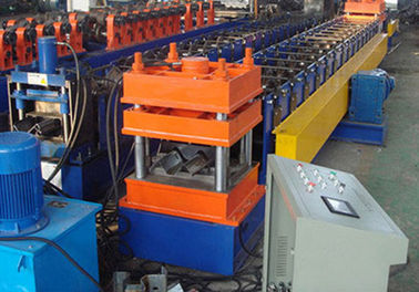 China Colored Steel Highway Guardrail Roll Forming Machine , Tube Forming Machine  supplier