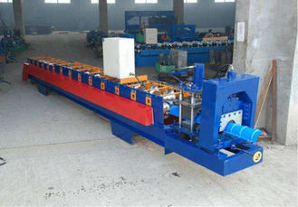 China PLC Control Automatic Roll Former Machine With Hydraulic Bending Machine supplier