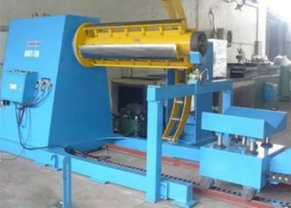 China 380V 60HZ Roll Forming Production Line Automatic Decoiler With Hydraulic System supplier
