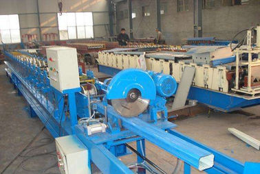 China Frequency Control Downspout Roll Forming Machine With Hydraulic Cutting Machine supplier