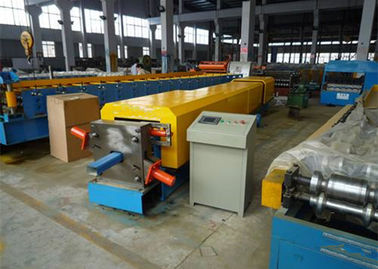 China 4kw Aluminium Gutter Roll Forming Machine With Metal Sheet Bending Machine supplier