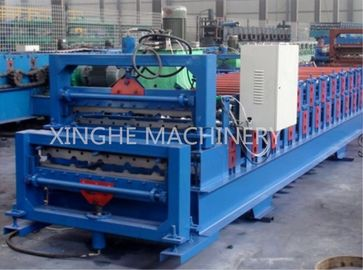 China Africa Model  Roof Panel Roll Forming Machines , Aluminium Sheet Metal Rolls supplier