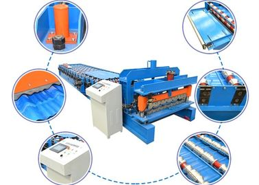 China PLC Control Sheet Metal Forming Machine 4-8m/Min 380v 50hz 3 Phrases supplier