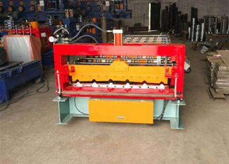 China Automatic Rollformer Corrugated Steel Sheet Roof Panel Roll Forming Machine supplier