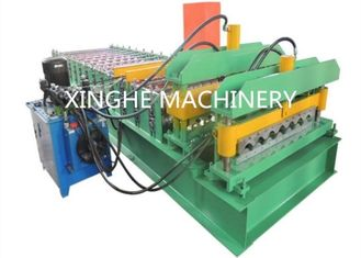 China Glazed Tile Roll Forming Machine,Roll Forming Machine For Cold Room Panel supplier