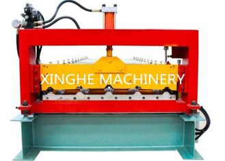 China PLC Automatic Zinc Roofing Double Layer Roll Forming Machine / Roof Panel Forming Machine supplier