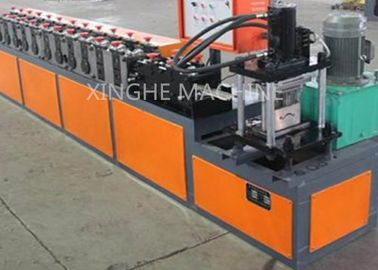 China Automatic Hydraulic Galvanized Cold Steel Shop Slat Roller Shutter Door Roll Forming Machine supplier