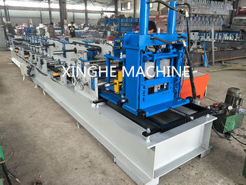 China Automatic Metal Channel Steel Beam C Z Purlin Roll Forming Machine Quick Interchangeable supplier