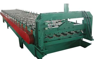 China Automatic Roofing Roll Forming Machine / Corrugated Sheet MakingMachine supplier