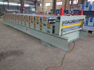 China Hydraulic Double Layer Roll Forming Machine IBR Sheet Corrugation New Condition supplier