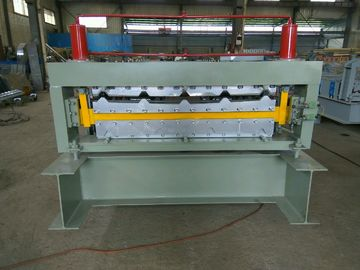 China Double Layer Metal Roofing Corrugated Steel Sheet Wall Panel Roll Forming Machine supplier